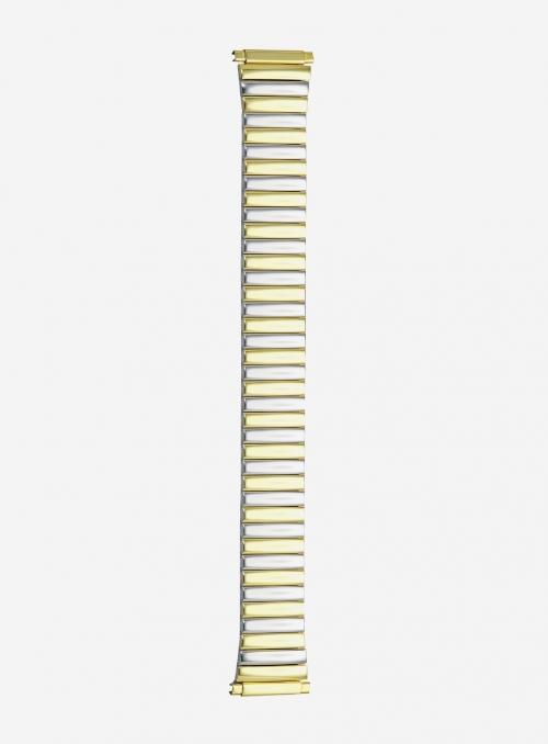 Cinturino estensibile in acciaio bicolore • 1300MG-17SE