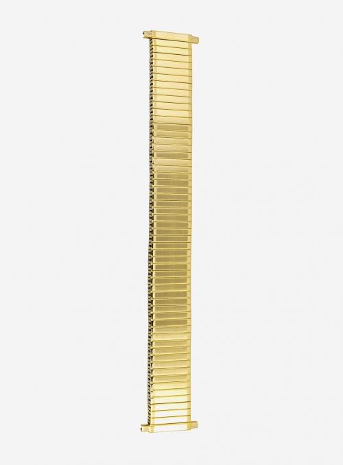 Cinturino estensibile in acciaio dorato • 1270P-18SE