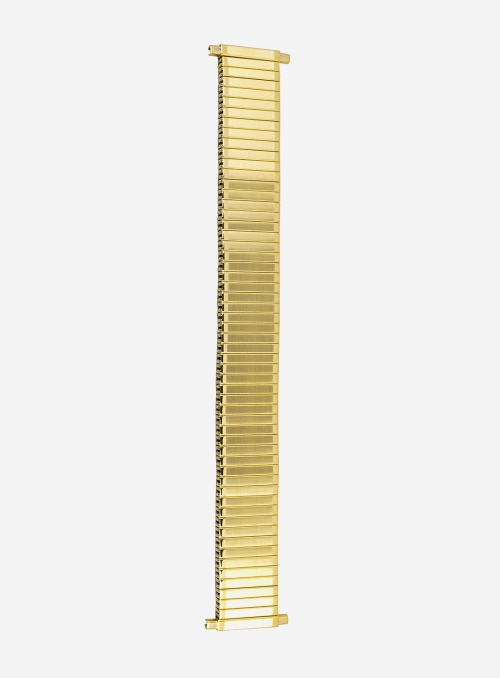 Gilded expansion stainless steel watchband • 1270P-18SE