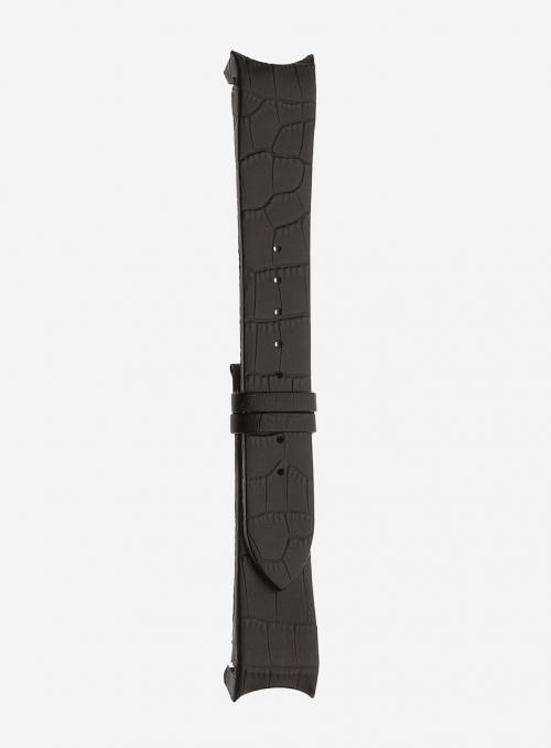 Cinturino in vitello stampa alligatore • Pelle italiana • 874