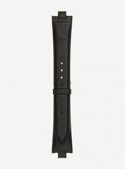 Matt guinea calf leather watchstrap • Italian leather • 868D