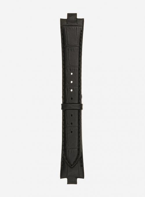 Cinturino in vitello stampa guinea opaco • Pelle italiana • 868D