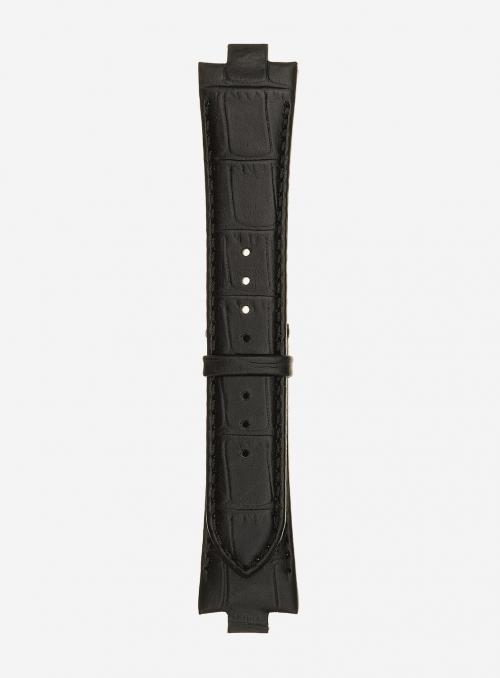 Matt guinea calf leather watchstrap • Italian leather • 868U