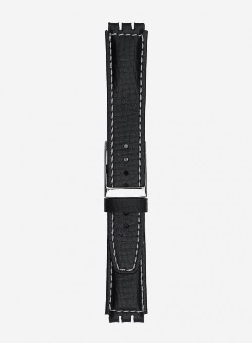 Cinturino in vitello stampa polo • Pelle italiana • 245E