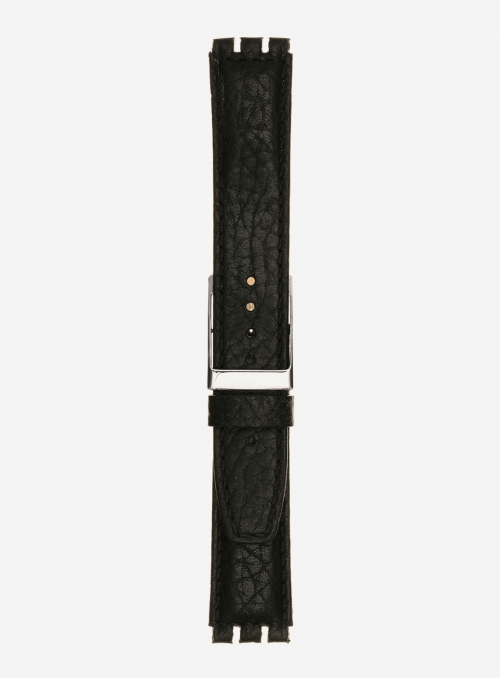 Bull grained calf leather watchstrap • Italian leather • 245PL