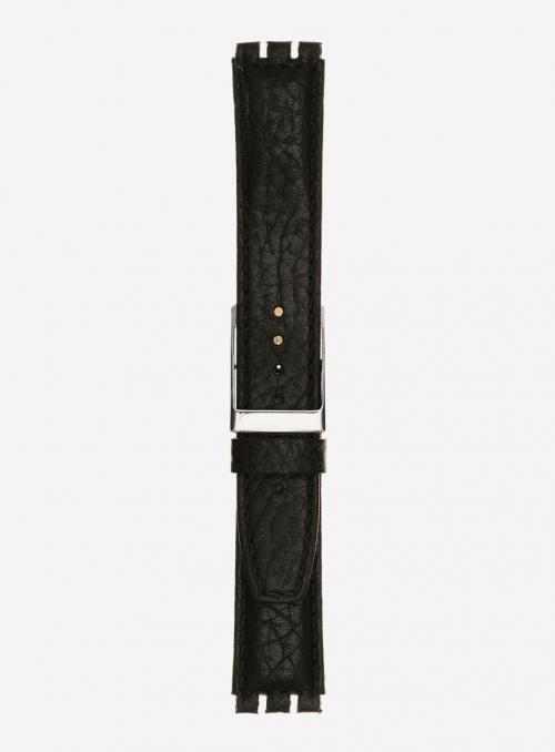 Cinturino in vitello stampa bisonte • Pelle italiana • 245PL