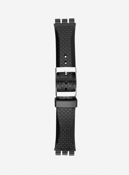 PVC watchband suitable also for swatch • 168S