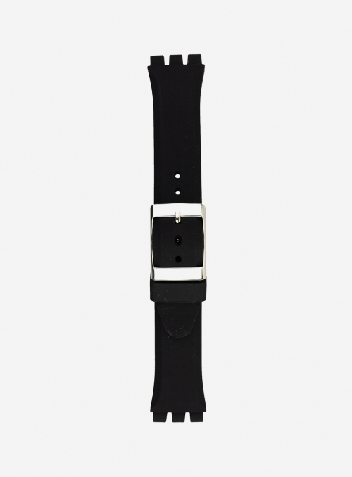 Elite silicone watchband suitable also for swatch • 178S