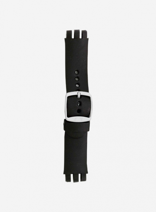 Soft PVC watchband suitable also for swatch • 168S