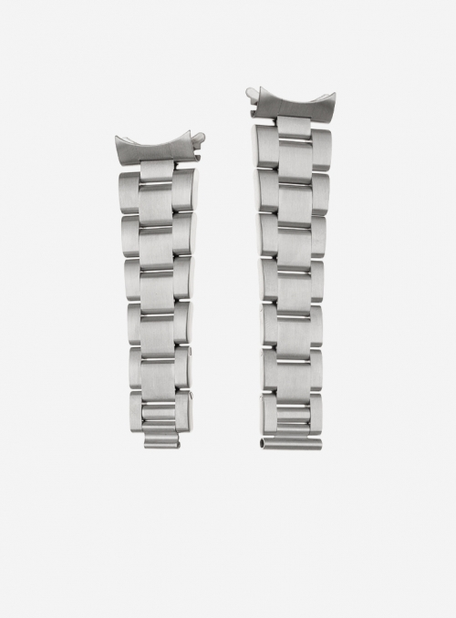 Solid stainless steel watchband suitable also for rolex watches • Made in Italy • Elite Silicone • 920