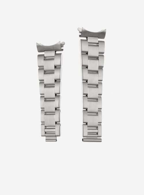 Cinturino solido in acciaio compatibile anche con orologi Rolex • Made in Italy • 920