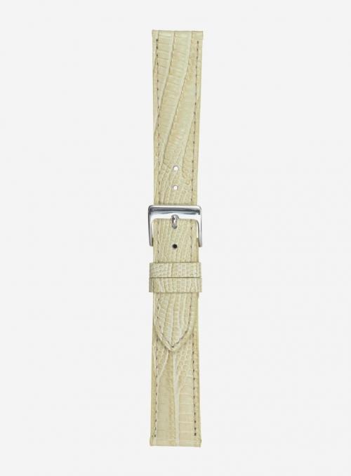 Cinturino in vitello stampa tejus • Pelle italiana • 701