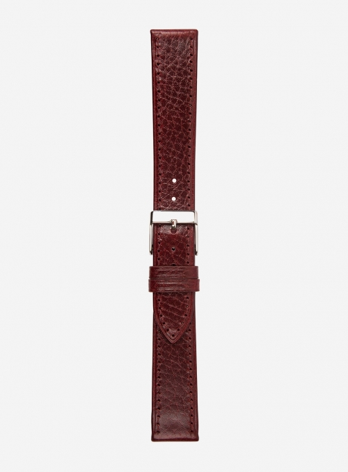 Llama grained leather watchstrap • Italian leather • 200