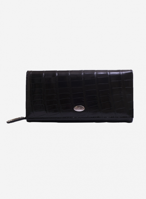 Genuine alligator wallet • Kelly • 482A