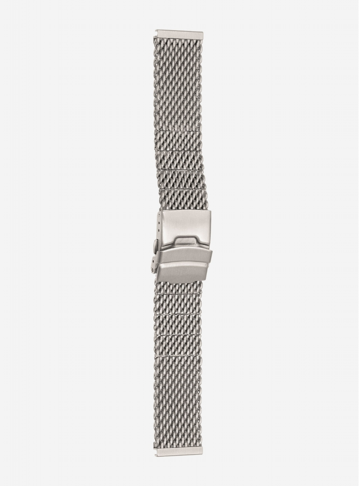 SOLID MESH STAINLESS STEEL WATCHBAND • 140
