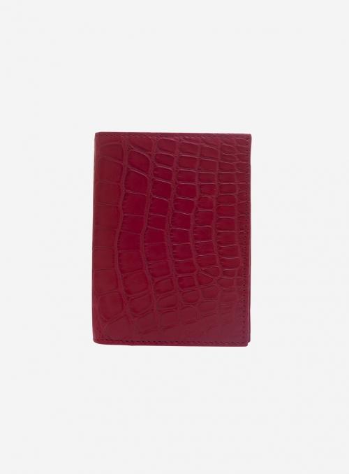 Genuine alligator wallet • Hayden • 410A