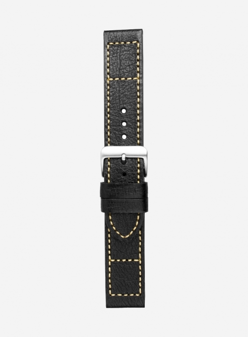 Pekary leather watchstrap • Italian leather • 679
