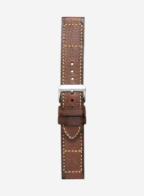 Cinturino vintage in Pekary • Pelle Italiana • 679