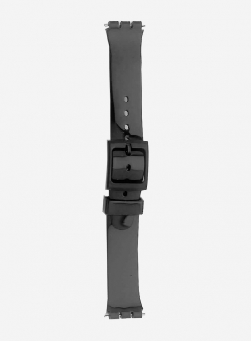 PVC watchband suitable also for swatch • 444S