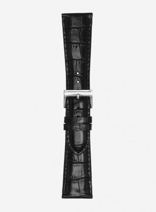 Extra-long odessa glossy antigua calf leather watchstrap • Italian leather • 454LSLS
