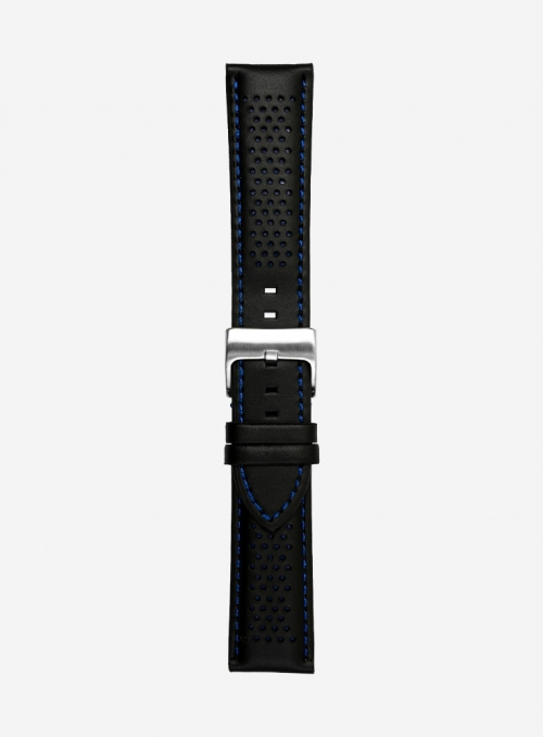 Cosmos waterproof leather and lorica watchstrap • Italian leather • 685