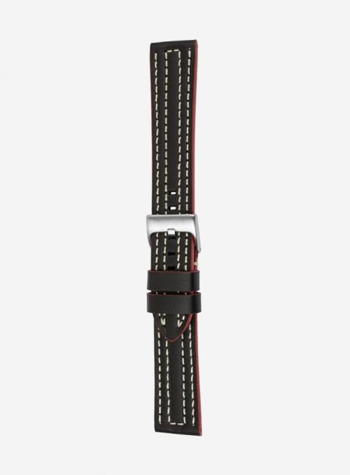 Cinturino in cuoio cosmos waterproof • Pelle Italiana • 699