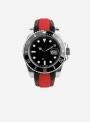 Cinturino compatibile anche con Rolex GMT/OYSTER • Pelle/Cordura • 944