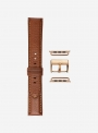 Odessa calf leather watchband suitable for Apple Watch • Genuine Italian Leather • 440-APL