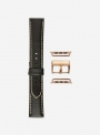 Odessa calf leather watchband suitable for Apple Watch • Genuine Italian Leather • 878-APL