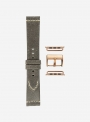Vintage leather watchstrap suitable for Apple Watch • Genuine Italian Leather • 674-APL