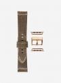 Retrò • Cinturino Apple Watch in pelle vintage • Pelle Italiana