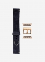 Suede leather watchstrap suitable for Apple Watch • Genuine Italian Leather • 676-APL