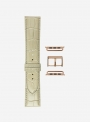 Antigua • Glossy antigua calf leather watchstrap for Apple Watch • Italian Leather