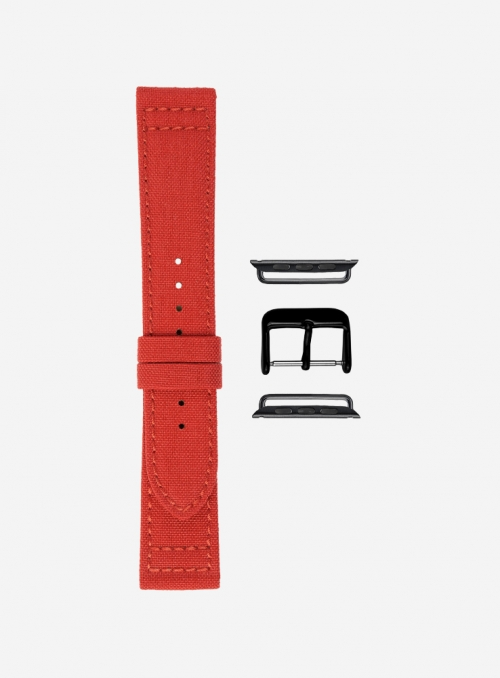 Surf • Waterproof cordura watchstrap for Apple Watch • Vegan Friendly