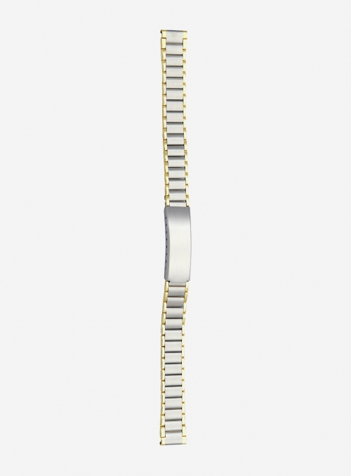 Two-tone gilded stainless steel wrapped watchband • 8292MGD