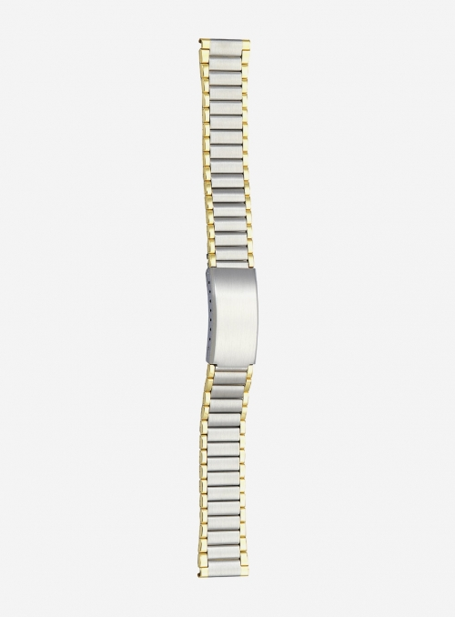 Two-tone gilded stainless steel wrapped watchband • 8292MGU