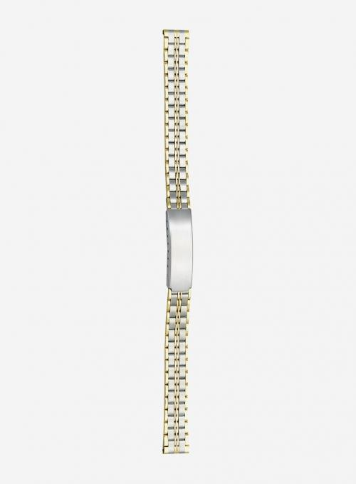 Cinturino in acciaio bicolore • 5823GD