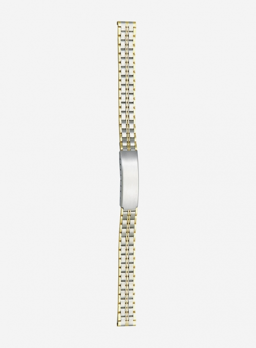 Two-tone gilded stainless steel wrapped watchband • 5823GD