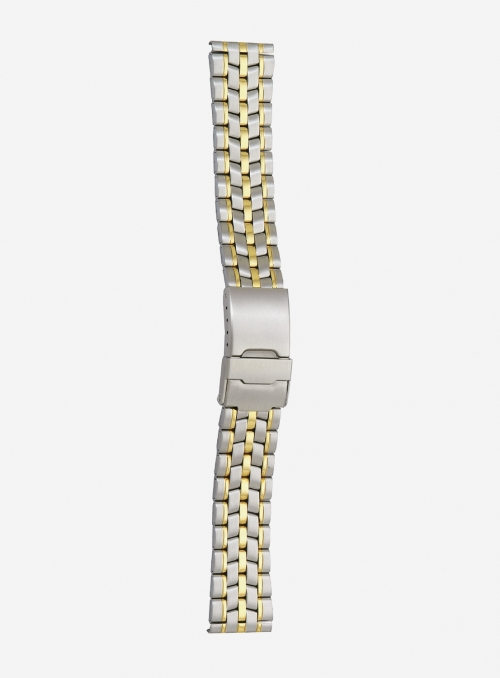 Two-tone gilded stainless steel wrapped watchband • 4250MG