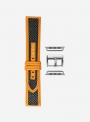 Hurricane • Genuine carbon fibre and Lorica® watchstrap for Apple Watch