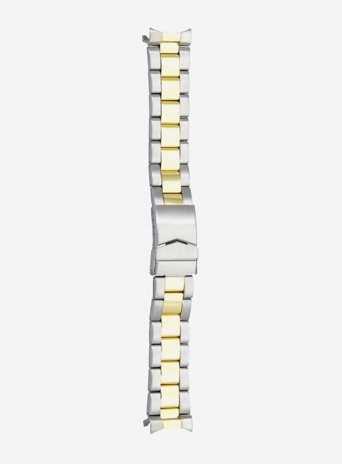Cinturino in acciaio bicolore • 1900MGC