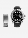 Cinturino compatibile anche con Rolex GMT/OYSTER • Vitello idrorepellente • 935