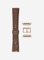 Matt genuine alligator watchstrap suitable for Apple Watch • 624-APL