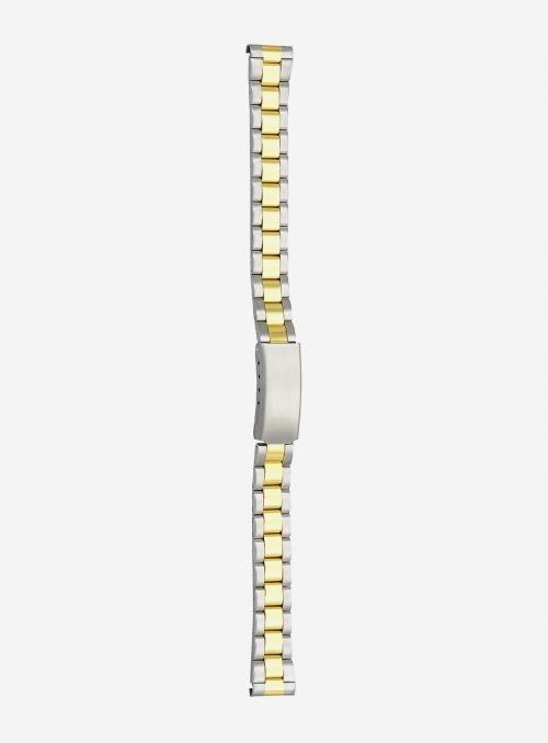 Cinturino in acciaio bicolore • 35MG