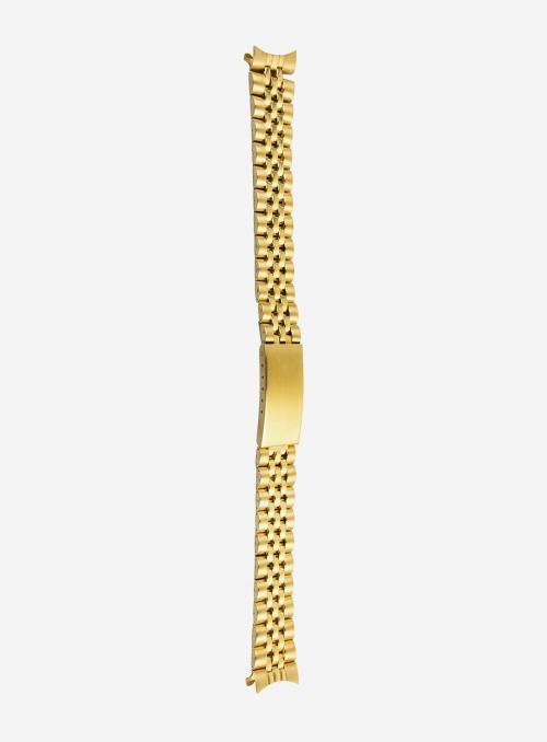 Stainless steel wrapped watchband plated 1 micron • BL5SGP