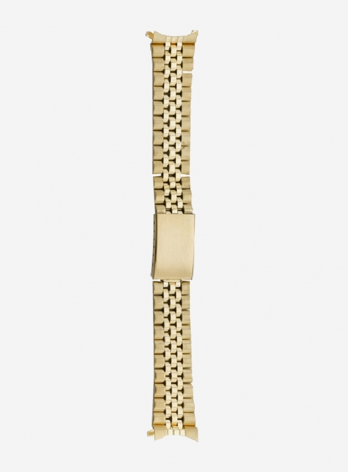 Stainless steel wrapped watchband plated 1 micron • B5SGP