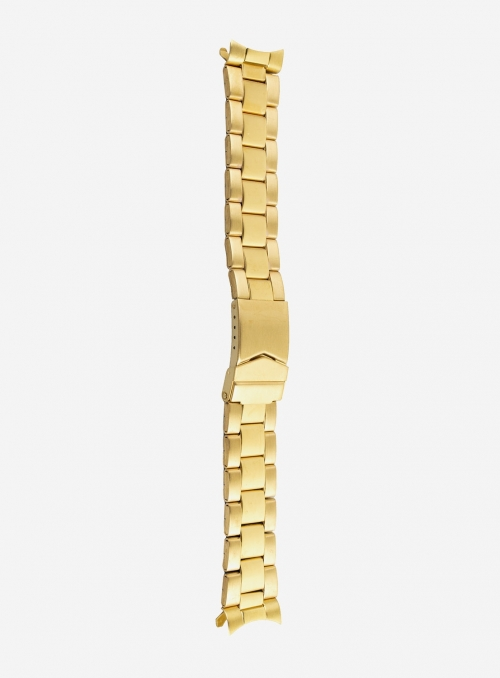 Stainless steel wrapped watchband plated 1 micron • 1900CP