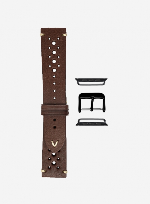 Classico • Vintage leather watchstrap suitable for Apple Watch • Genuine Italian Leather