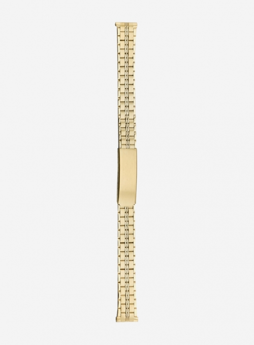 Stainless steel wrapped watchband plated 1 micron • 582MBPD