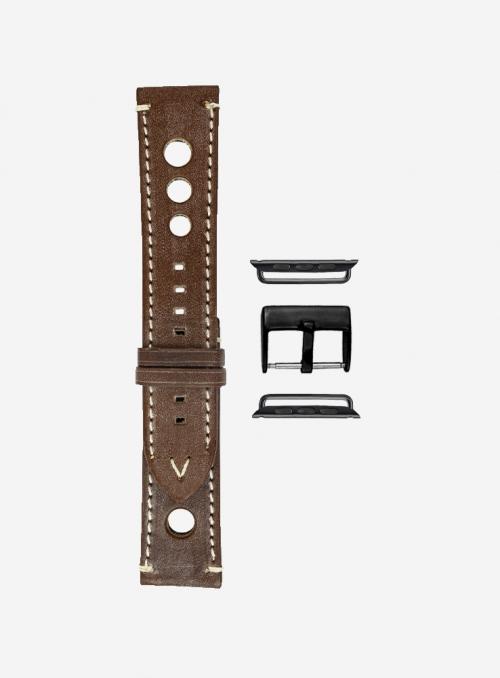 Evo • Cinturino Apple Watch in pelle ingrassata • Pelle Inglese